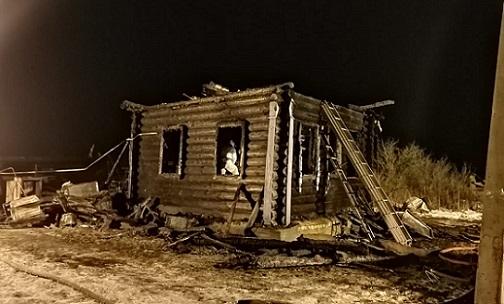 В Рождественскую ночь под Ярославлем при пожаре погибли трое детей