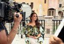 Композитор Виктория Кохана выбрала знаменитый цитрусовый принт Oscar de la Renta для нового клипа