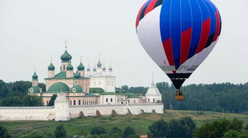 В Ярославской области прошел юбилейный фестиваль воздухоплавателей