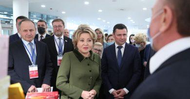 Матвиенко и Миронов открыли в Ярославле VIII парламентский форум