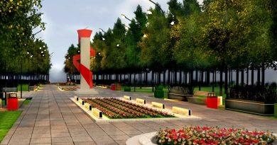 Мэрия Ярославля проверила реконструкцию парка Победы на Липовой горе